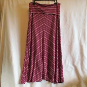 New Mossimo Striped Maxi Skirt